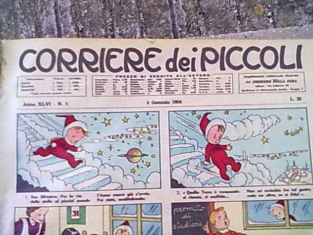 Corriere dei piccoli annata 1954 completa rilegata
