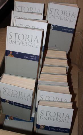 Storia universale - corriere della sera 20 volumi nuovi!