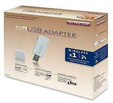 Adattatore wireless usb sitecom 150n pc