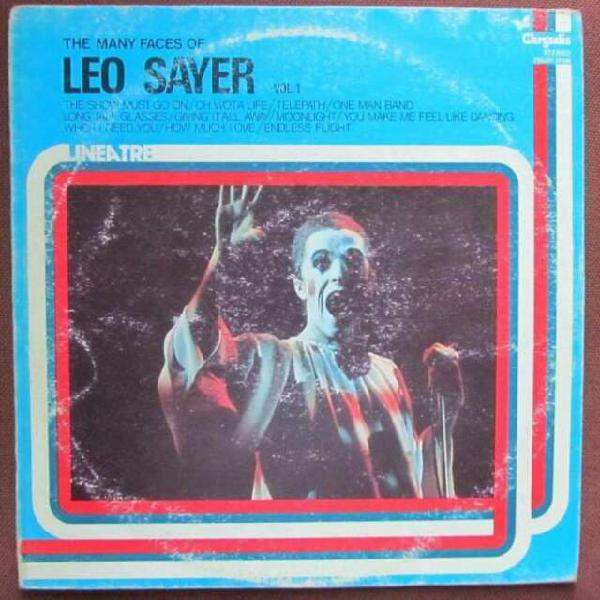 "Lp 33 giri:The Many faces of Leo Sayer"" Volume 1°"