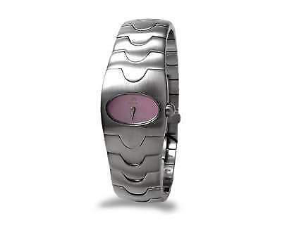 Orologio breil drop rosa da donna acciaio movimento quarzo