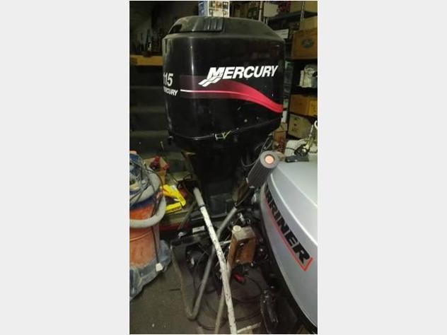 barca a motore MERCURY 115 CV anno1999 lunghezza mt1