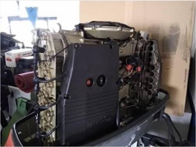 Barca a motore suzuki dt 115 4 cilindri anno1998 lunghezza