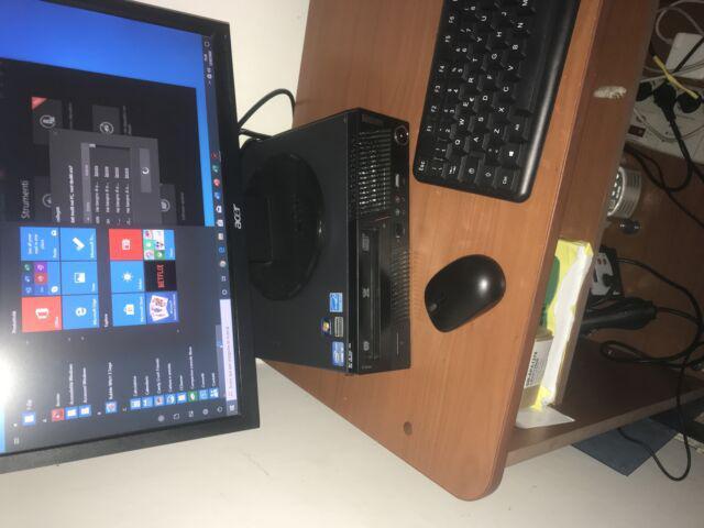 Computer lenovo i3 ddr3 win10 + monitor