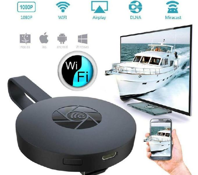 Dongle WIFI Wireless Display TV x iOS Android e Win PC