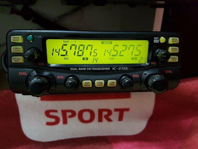 Ricetrasmittente icom ic-2725e