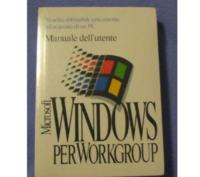 Windows per workgroup 3.11 con dischetti