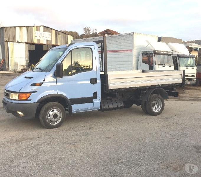 camion iveco daily 35c12 ribaltabile