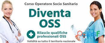 Qualifica Professionale Operatore Socio Sanitario riconosciuta in tutta Italia € 2.600 iva esente