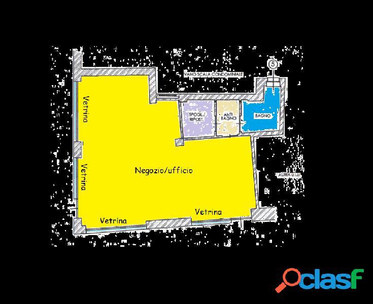 Negozio/ufficio centro storico vic.ze p.za statuto
