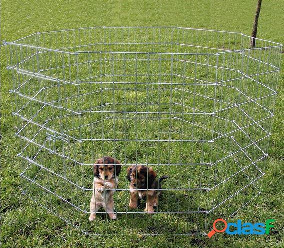 Trixie recinto per cuccioli in rete metallica (8 elementi)
