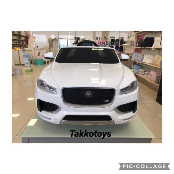 Auto macchina elettrica jaguar f-pace