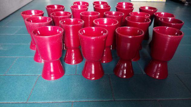 Bicchieri ceramica sarda