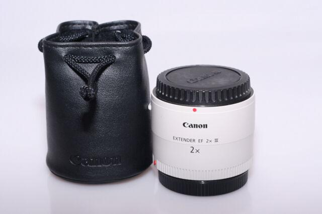 Canon extender ef 2x iii. garanzia.