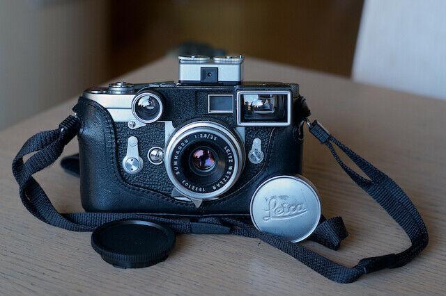 e 135mm Adapter per montare obiettivi a vite Leica M39 35mm su corpi Leica M.