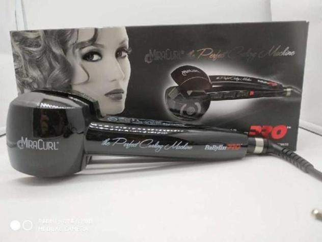 Piastra capelli babyliss miracurl