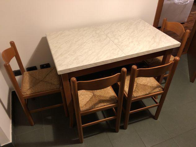 Tavolo cucina allungabile con 4 sedie