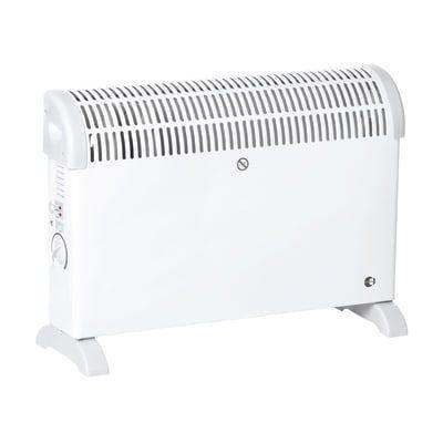 Vendo stufa elettrica 2000w, con termostato e turbo
