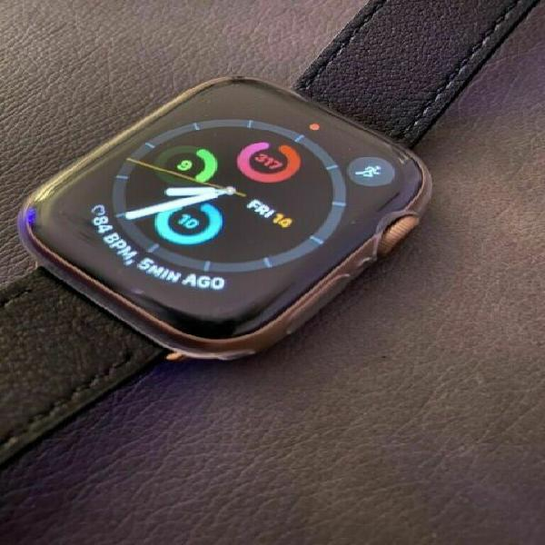 Apple watch series 5 44mm. gold. gps cellular