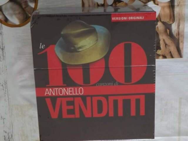 Cofanetto antonello venditti le 100 canzoni di box 6 cd