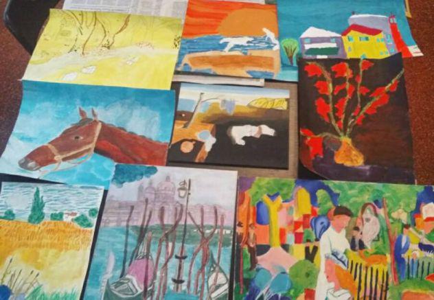 Corso di disegno e pittura per bambini a genova