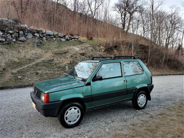 Fiat panda 1.1i.e. trekking 4x4 ok neopatentati
