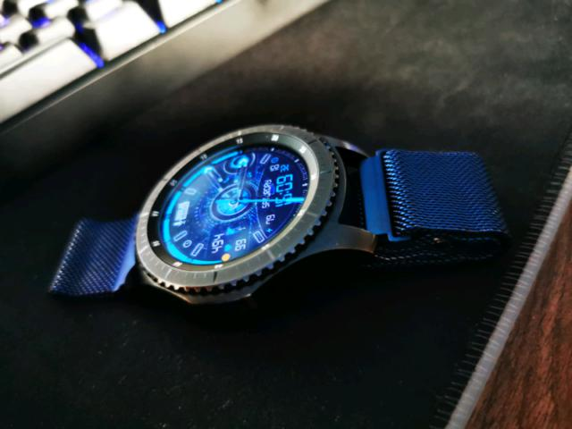 Orologio smartwatch samsung gear 3 frontier