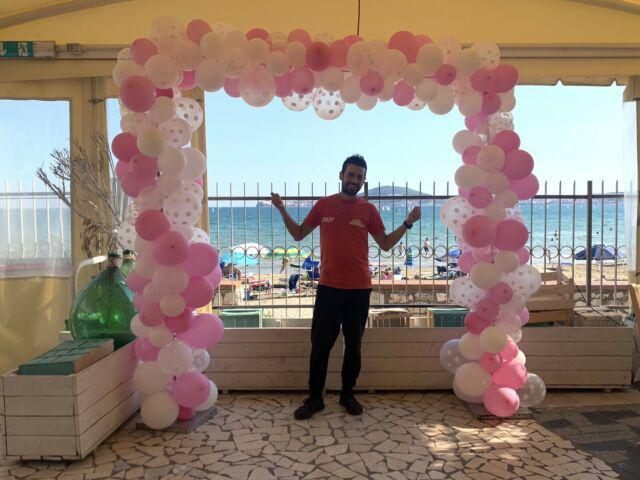 Allestimento palloncini per il tuo evento