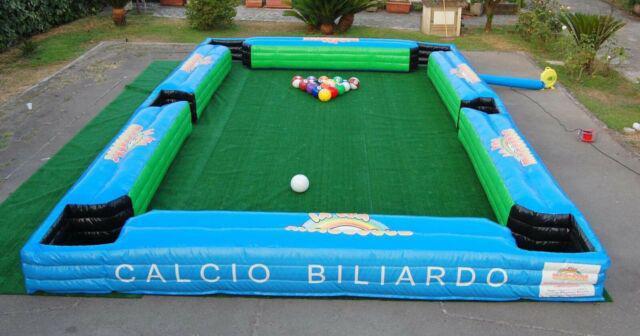 Calcio biliardo gonfiabile set completo in pvc