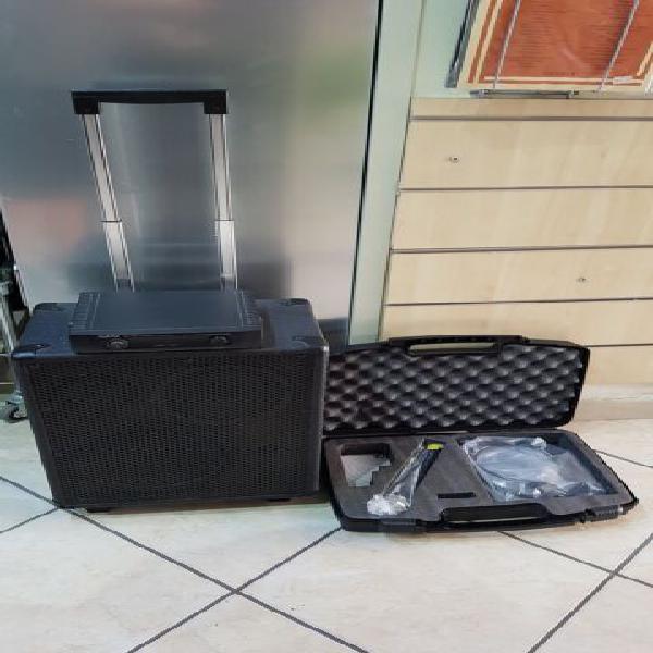 Cassa portatile con microfono