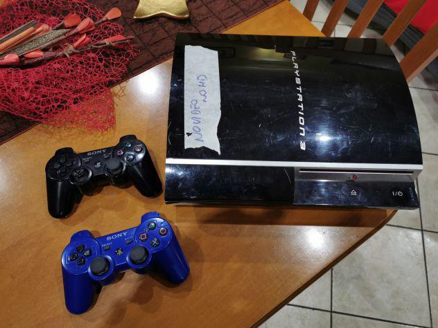 Console sony playstation 3 80gb schermo nero non funzionante
