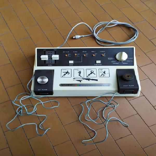 """Console vintage pong anni 70 """"soundic"""" video game"""