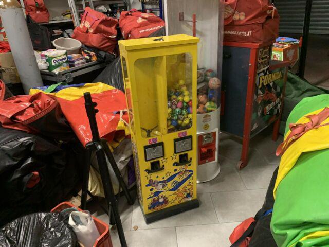 Distributore palline meccanico sorprese gadget giochi