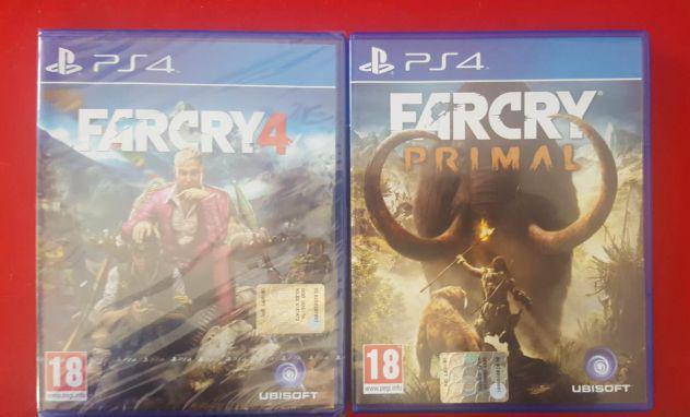 Far cry 4 - far cry primal - videogames ps4