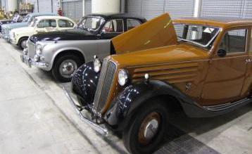 Intera collezione di auto