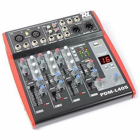 Mixer audio power dynamics pdm-l405