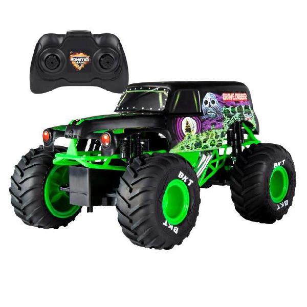 Monster jam pick-up giocattolo grave digger con radiocomando