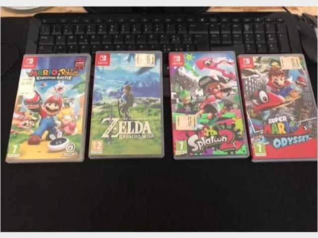 Nintendo switch completa + giochie scatola usato