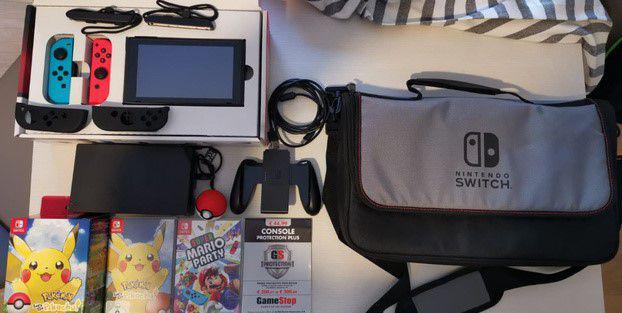 Nintendo switch, giochi e accessori