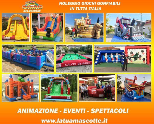 Noleggio giochi gonfiabili gioco gonfiabile in tutta italia