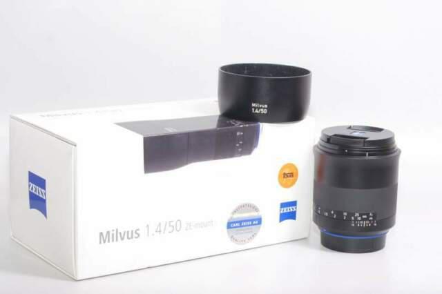 Obiettivo zeiss mlvus 50 mm f/1.4 ze-mount. ex demo.