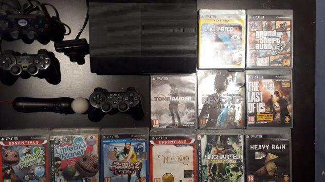 Ps3 + giochi e accessori