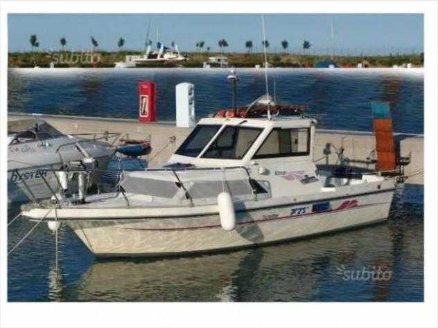 Barca a motoretecnofiber tf25 anno1995 lunghezza mt7