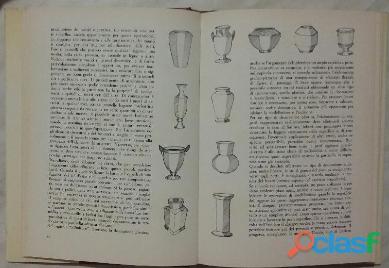Il grande libro della ceramica di Mariani Mione Ed.De Vecchi 1982 perfetto 2