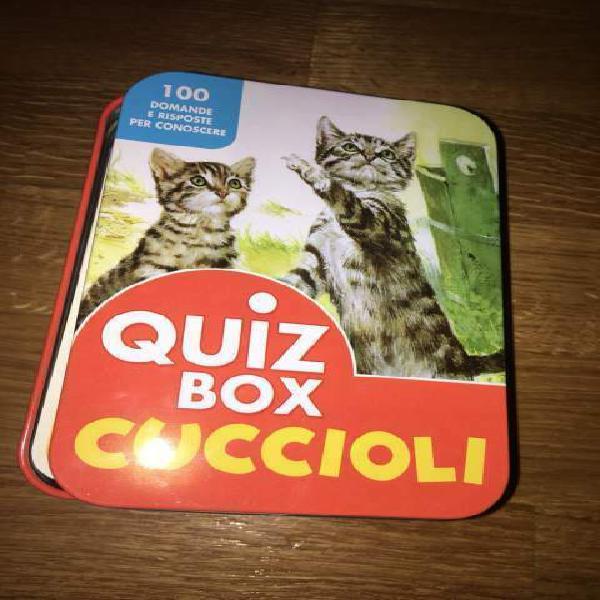 Quiz box cuccioli