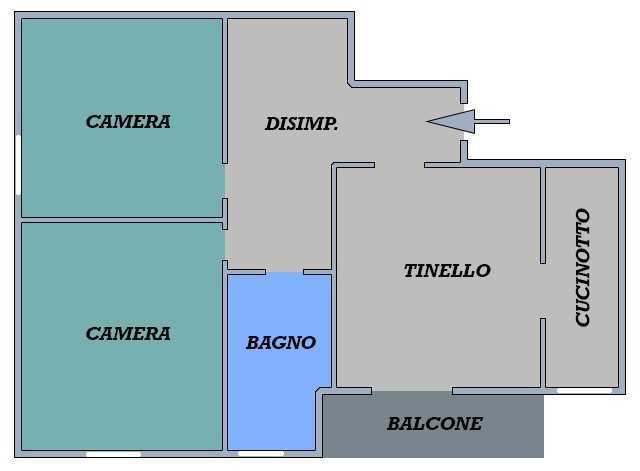 Appartamento - Trilocale a 02.Corticella, Bologna