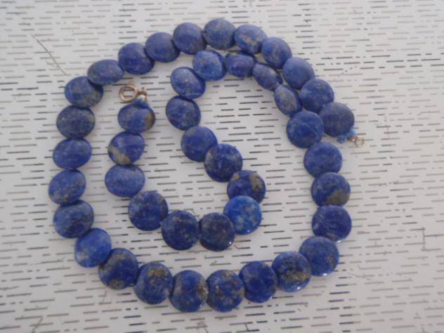 Collana lapis blu