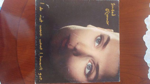 """Lp 33 giri sinead o' connor """"i do not want what i haven't"""