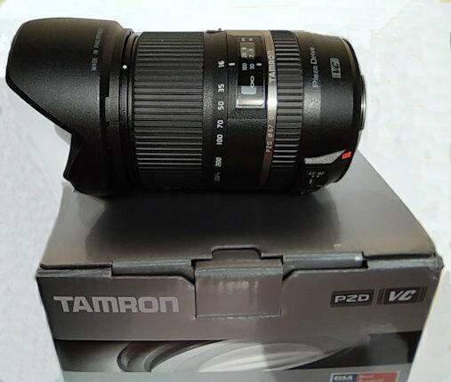 Obiettivo tamron 16-300mm f/3.5-6.3