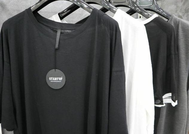 """Stock abbigliamento uomo firmato """"startup"""""""